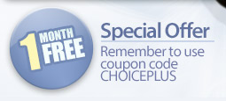 Coupon Code - Use Coupon Code CHOICEPLUS
